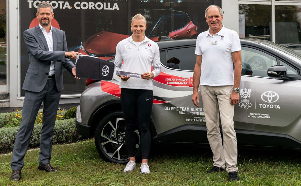 Bild Toyota-Olympia-Flotte Erhält Prominenten Zuwachs